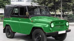 How do you set the ignition on UAZ