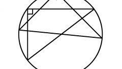 Как определить центр окружности