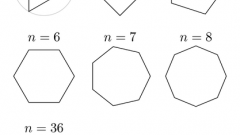 How to find the side of a regular polygon