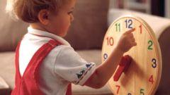 Как обучить ребенка времени