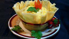 Как сделать сырную корзинку