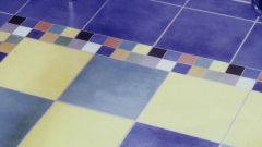 How to remove glue from tiles