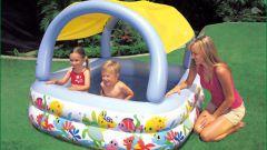 Как наполнить бассейн