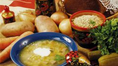 How to cook soup with barley