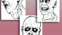 Как нарисовать зомби карандашом