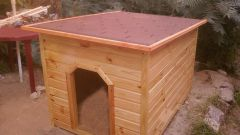 How to build a doghouse for a German shepherd