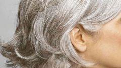 Как убрать седые волосы