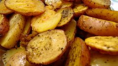 How to fry potatoes in the microwave