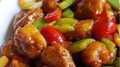 Как приготовить курицу в кисло-сладком соусе