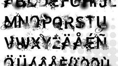 Как написать шрифт