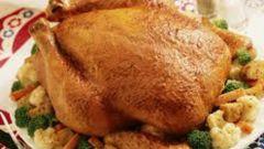 Как пожарить курицу целиком