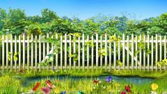 Как построить красивый забор