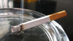Как удалить запах сигарет