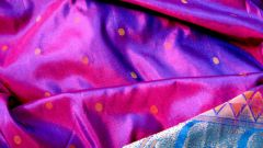 How to identify natural silk