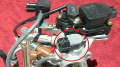 How to adjust position sensor throttle