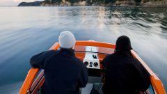 Как закрепить эхолот на лодке