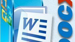 Как открыть документ с расширением docx