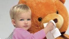 Что делать, если у ребенка насморк