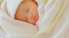 Как приучить новорожденных спать ночью