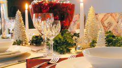 Как накрыть стол на Рождество