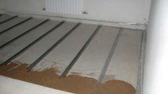 Как залить деревянный пол