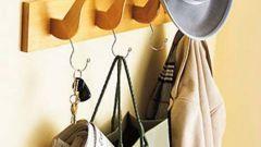 Как сделать деревянную вешалку для одежды