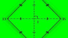 Как найти радиус окружности, вписанной в ромб