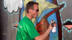 Как научить рисовать граффити