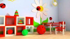 Как организовать игровую зону в однокомнатной квартире