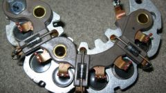 How to ring the diode bridge