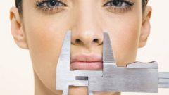 Как уменьшить нос на фото