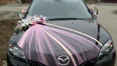 Как со вкусом украсить автомобиль на свадьбу