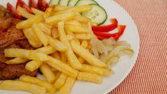 Как приготовить картофель фри в аэрогриле