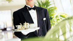 Как составить резюме официанта