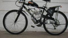 Как поставить мотор на велосипед