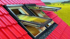 Как сделать мансардное окно