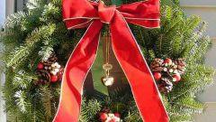 Рождественский венок: как сделать его своими руками