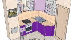How to draw a kitchen design