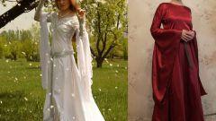 Как сшить средневековое платье
