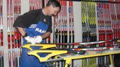 Как обрабатывать новые лыжи