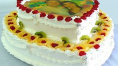 Как сделать фотографию на торте