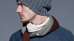 Как связать зимнюю мужскую шапку
