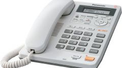 How to set caller ID in phones Panasonic