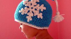 Как связать зимнюю шапку крючком