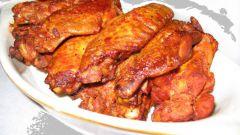 Как жарить куриные крылья