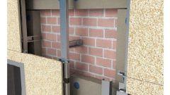 Как монтировать вентилируемый фасад