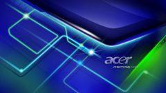 Как настроить ноутбук Acer