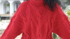 Как уменьшить размер свитера