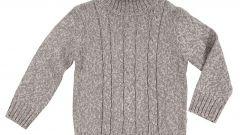 Как определить размер свитера