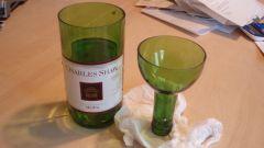 Как распилить бутылку
